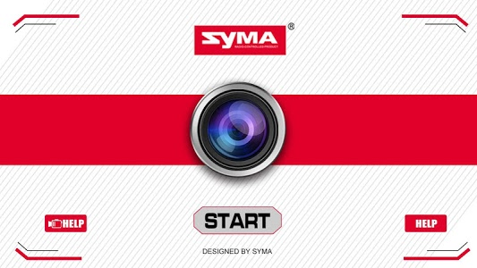 screenshot of SYMA-FPV version 5.2