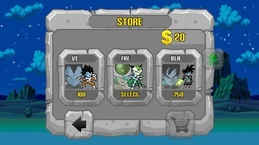 screenshot of Battle of Saiyan War - Online version 6.0