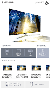 screenshot of SAMSUNG TV & Remote (IR) version 4.3