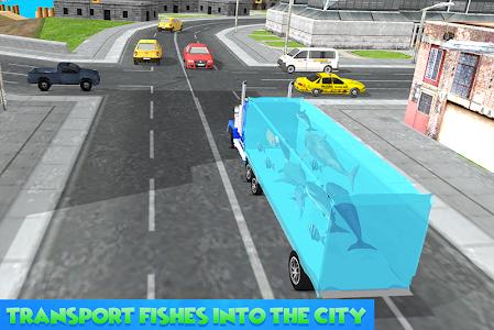 screenshot of Sea Animals Transport Truck version 1.6