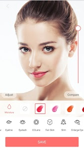 screenshot of Selfie Camera - Beauty Camera & Photo Editor version 1.8.4