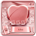 Download Silk Rose Gold Apple Keyboard for Phone 8 , OS11 1.0 APK