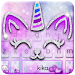 Download Silver Unicorn Cat Keyboard 6.0 APK