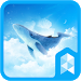 Download Simple Sky Blue Whale Illust Launcher theme 1.0 APK