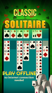 screenshot of Solitaire version 4.0.7