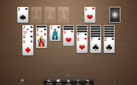 screenshot of Solitaire version 1.5.1.118