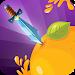 Download Splashy knife hit: idle knife throw to juicy fruit 1.0 APK