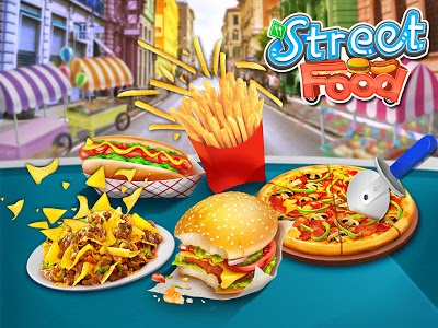 Download Street Food Stand Cooking Game 1.1 APK