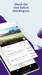 screenshot of StubHub - Tickets to Sports, Concerts & Events version 7.9.2