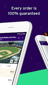 screenshot of StubHub - Tickets to Sports, Concerts & Events version Varies with device