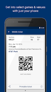 screenshot of StubHub - Event tickets version 3.0.5