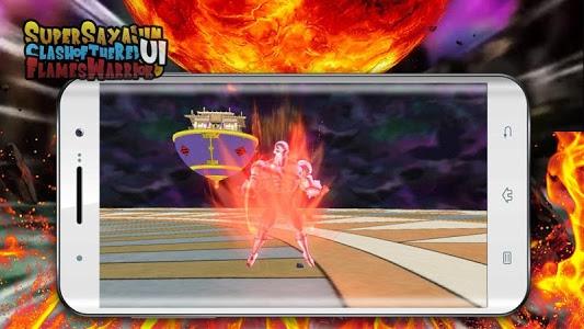 screenshot of Super Sayajin UI Kakaroto VS Red Flame Warrior version 1.0