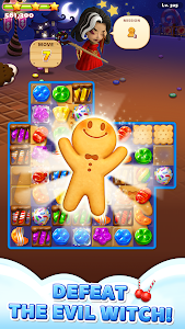 screenshot of Sweet Road: Cookie Rescue Free Match 3 Puzzle Game version 6.4.1