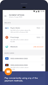 screenshot of Swiggy Food Order & Delivery version 2.0.0