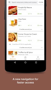 screenshot of Swiggy Food Order & Delivery version 1.7.11