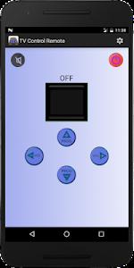 screenshot of TV Universal Control Remote version 5.0.2