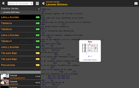 Download Tabs & Chords in Spanish 4.0 APK