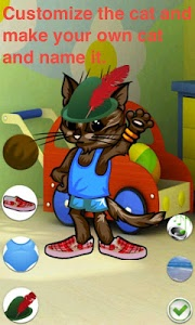 screenshot of Talking Cat Maker version 1.2