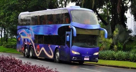 screenshot of Telolet Bus Driving version 1.0
