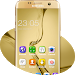 Download Theme for Samsung Galaxy S8: Gold wallpaper HD 2.1.5 APK