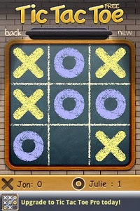 screenshot of Tic Tac Toe Free version 1.50