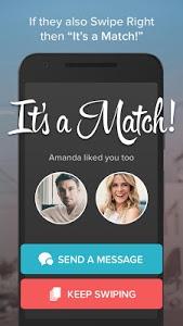 screenshot of Tinder version 6.11.0