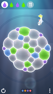 screenshot of Tiny Bubbles version 1.4.6