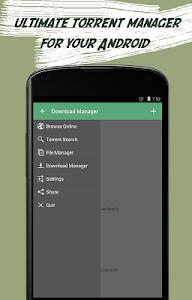 screenshot of Torrent Download Manager version 1.0