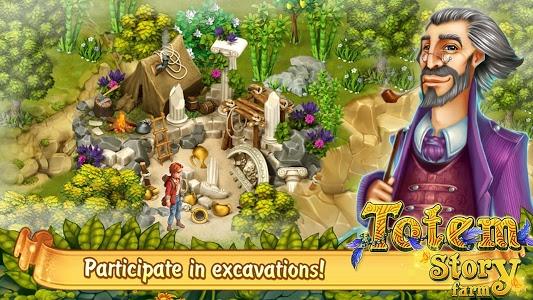 screenshot of Totem Story Farm version 1.0.0.4