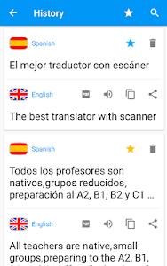 screenshot of Camera Translator - Translate Picture Scanner PDF version 130.0