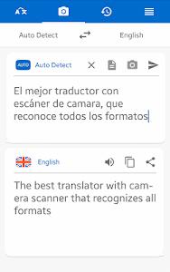 screenshot of Translator Camera Scanner pdf version 3.0