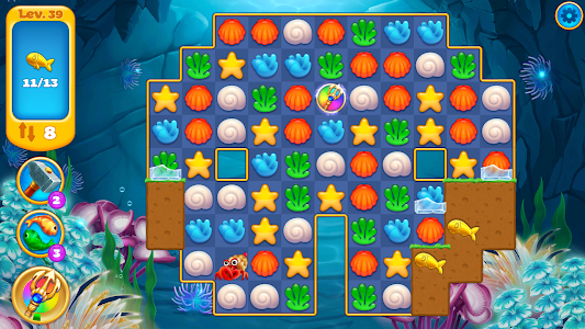 Download Seascapes : Trito's Match 3 Adventure 1.8.0 APK