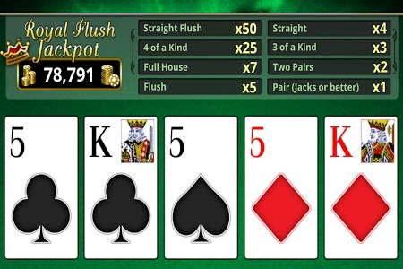 Download VIDEO POKER OFFLINE FREE!  APK