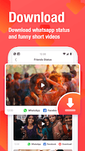 screenshot of VMate Status - Video Status & Status Downloader version 1.93