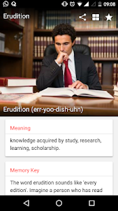 screenshot of VoLT - Vocabulary Learning version 2.4