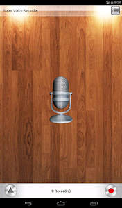 screenshot of Voice Recorder version 1.2.88