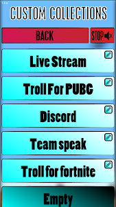 screenshot of VoiceChat Troll version 1.5.9