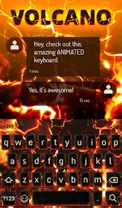 Download Volcano Animated Keyboard 2.15 APK