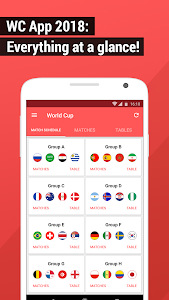 Download World Cup App 2018 - Live Scores & Fixtures 4.1.5 APK