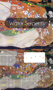 Download Water Serpents Keyboard Theme 6.8.18.2018 APK