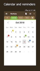 Download WeNote - Notes, To-do lists, Reminders & Calendar 0.46 APK