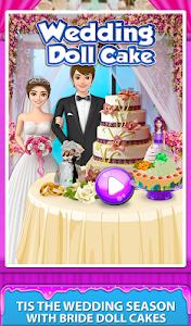 screenshot of Wedding Doll Cake Maker! Cooking Bridal Cakes version 1.0.1