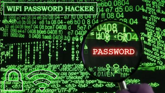 screenshot of Wifi Password Hacker Prank version 4.4