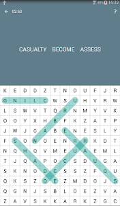 screenshot of Word Search version WS1-2.1.25