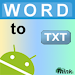 Download Word To TXT 1.1 APK