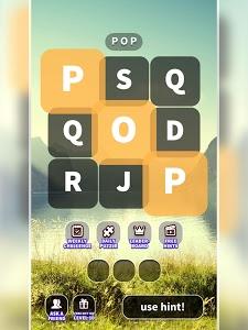 screenshot of WordWhizzle Pop version 1.0.6