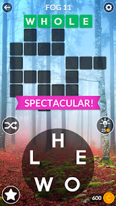 screenshot of Wordscapes version 1.0.1