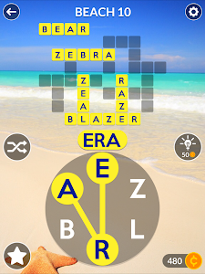 screenshot of Wordscapes version 1.0.56