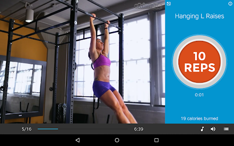 screenshot of Workout Trainer: fitness coach version 9.1