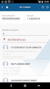 screenshot of YES BANK version 2.3